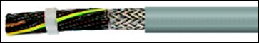 Кабель FLAME-JZ-CH, JZ-500 HMH-C, ÖLFLEX 115 CH